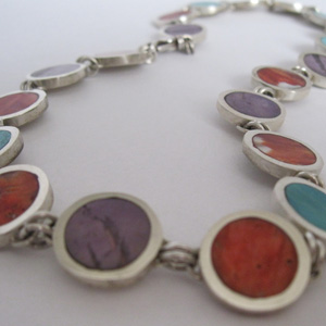 Many Circles Necklace